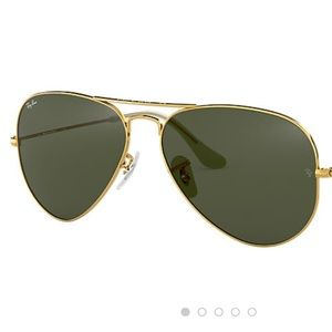Ray-Ban Aviator Gold Frame